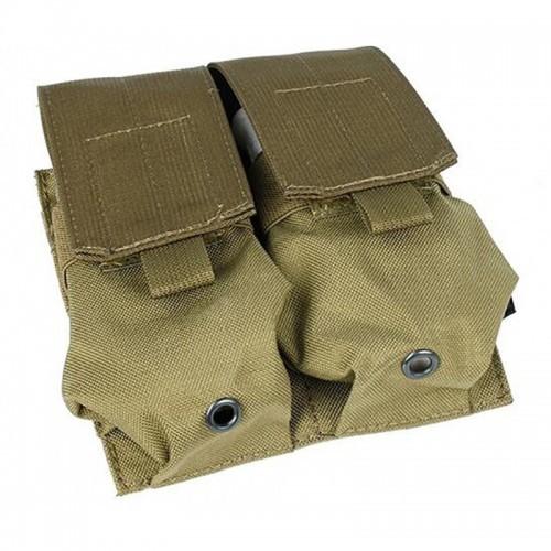 TMC 5.56 AR Molle Double Pouch (Khaki)