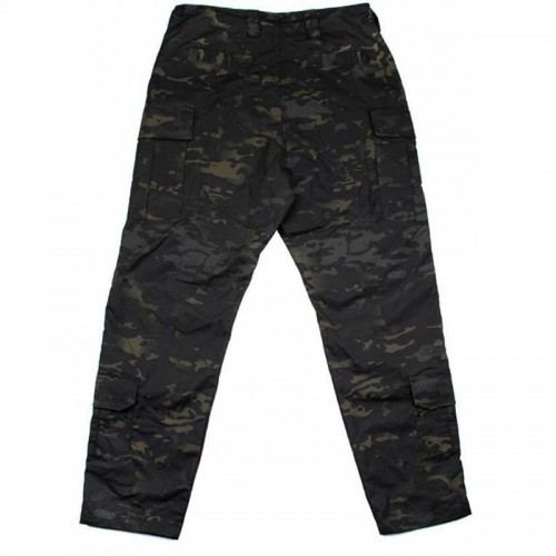 TMC Gen3 Camo Basic Field Pants with Inner Knee Pads (Multicam Black)