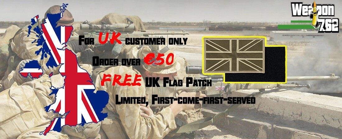 UK FREE PATCH