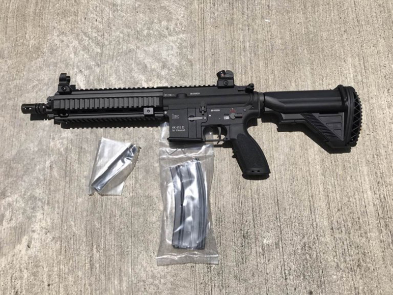 Umarex Vfc Hk416d V2 Aeg Carbine