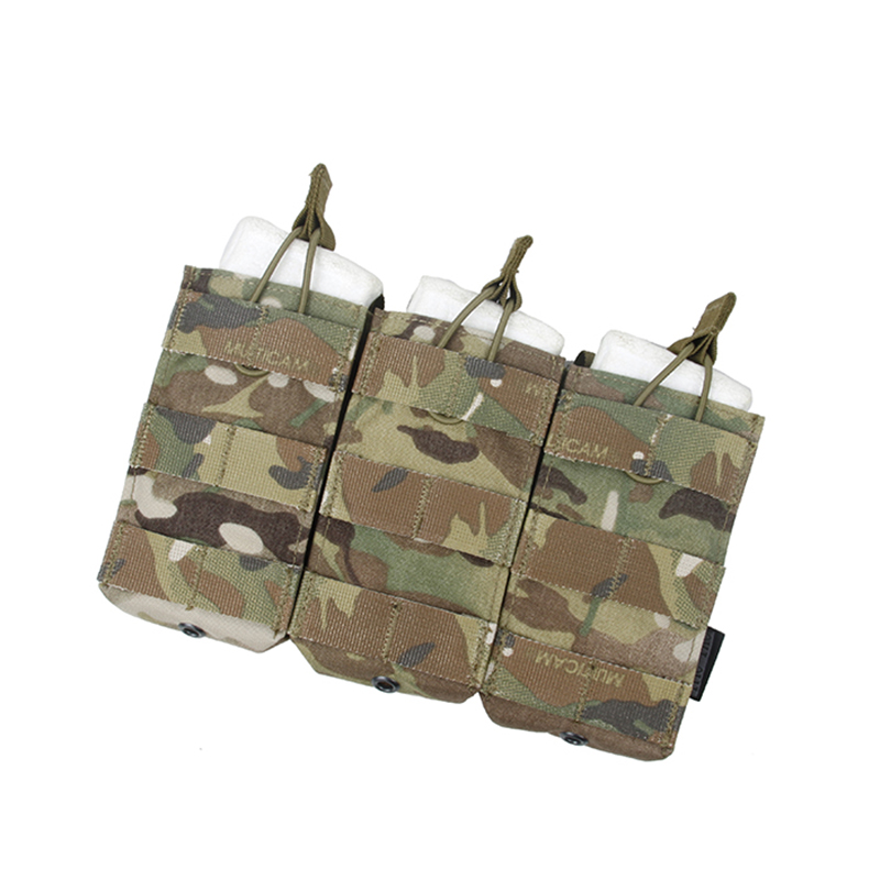 TMC2971-WG Details about  /TMC Tactical Open-Top Triple Mag Pouch Wolf Grey
